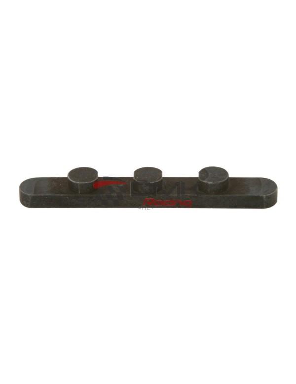 Chaveta 3 clavijas D 7,5mm H 3,5mm 30mm