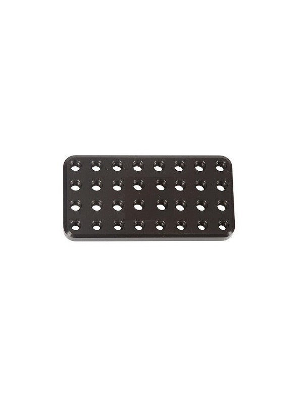 Porta chicles RR aluminio Negro