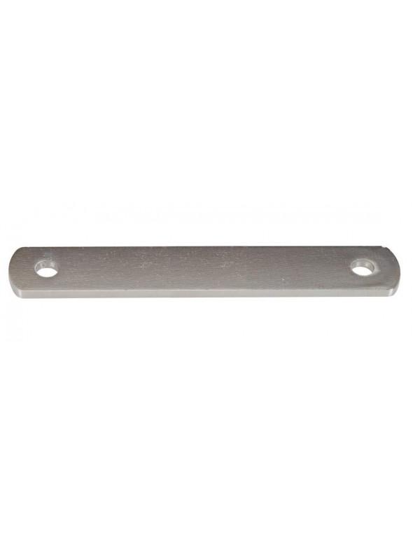 Pletina soporte escape 150 mm
