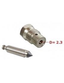 Paso gasolina 2,3 mm completo FIG. R51