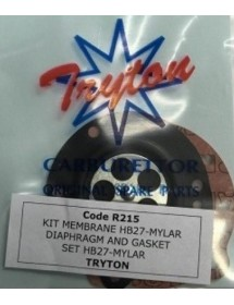 Juntas y menbranas Tryton X30 Especial Mylar FIG. R215