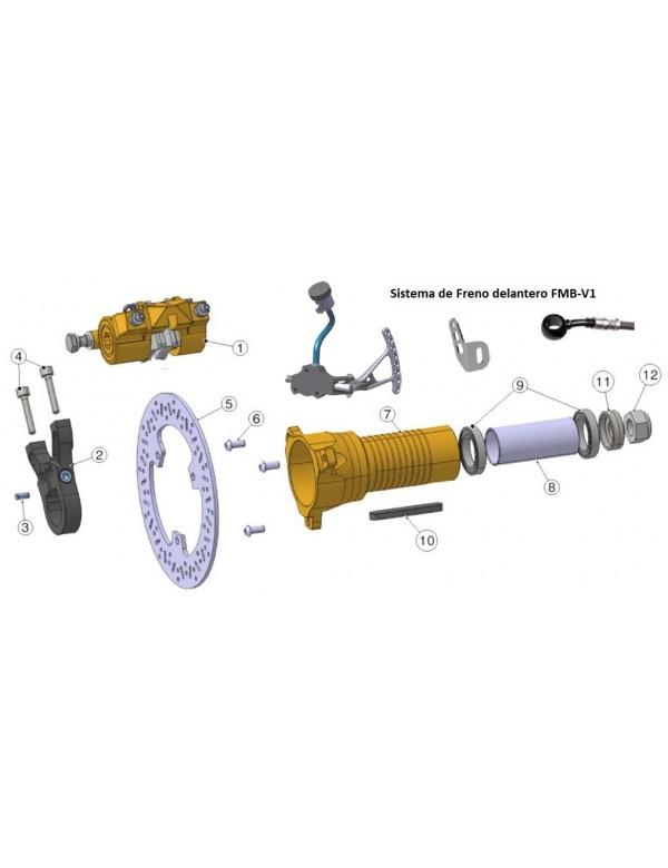 Sistema de Freno delantero FMB-V1