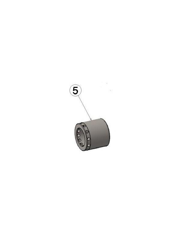Pistón pinza FRENO RMB-V1 Ø28MM IPK