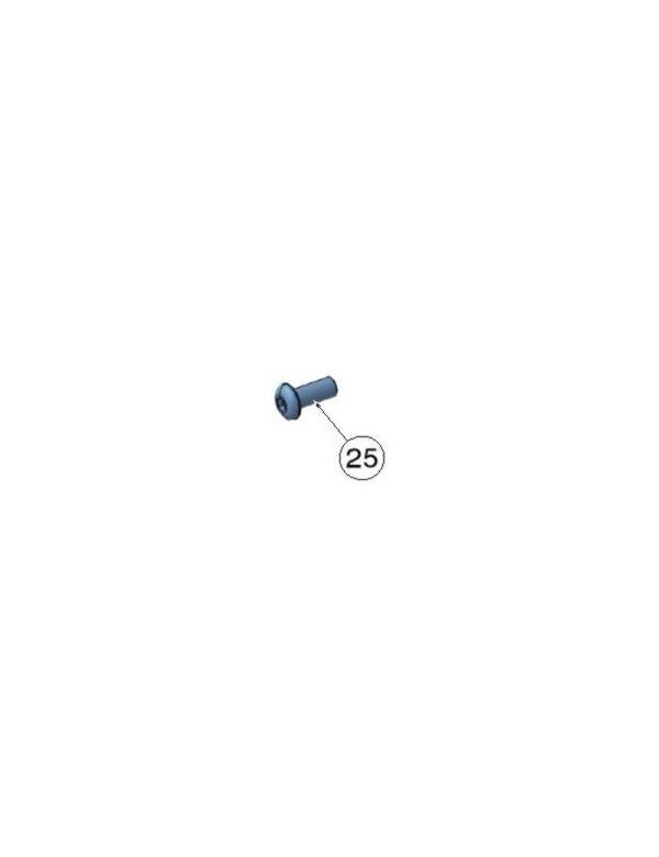 Tornillo DIN 7380 M8x18 Zinc