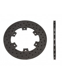 Disco freno ventilado taladrado 210 mm x 12 mm