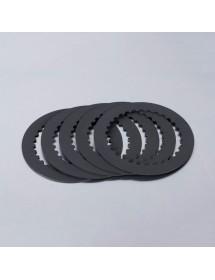 Kit 5 discos fricción aluminio Racing