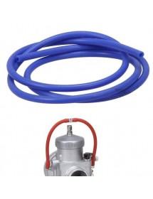 Tubo de silicona azul overflow carburador