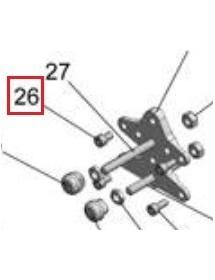 Tornillo M8X12 FT 8.8 ELZN