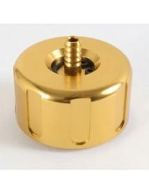 Tapón radiador Aluminio Dorado