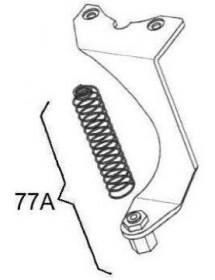 Soporte cable acelerador