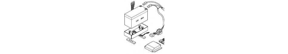 Encendido y conjunto eléctrico Iame X30