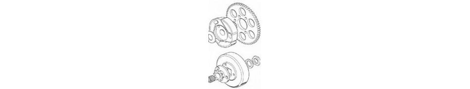 Repuestos y recambios acesorios y piezas embrague motor puma 64, motor puma 85 y motor leopard