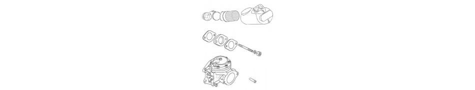 Repuestos y recambios, accesorios y piezas del conjunto admisión de motor IAME Puma 64
