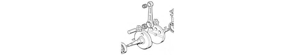 Repuestos y recambios de piston para motores de kart IAME Puma 85