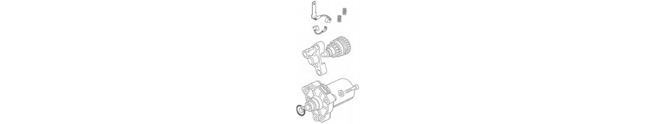 Repuestos, recambios piezas y partes conjunto arranque electrico motor IAME Puma 85